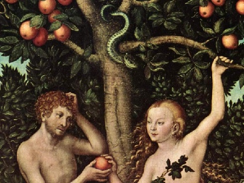 adam and eve in the garden from http://revelationrevolution.org/wp-content/uploads/2014/11/adam-and-eve.jpg