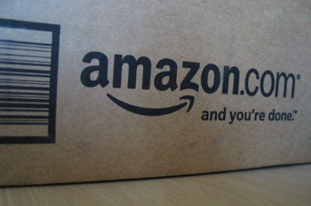 Amazon.com box with logo, from http://indianapublicmedia.org/news/files/2011/07/Amazon-Box-940x626.jpg